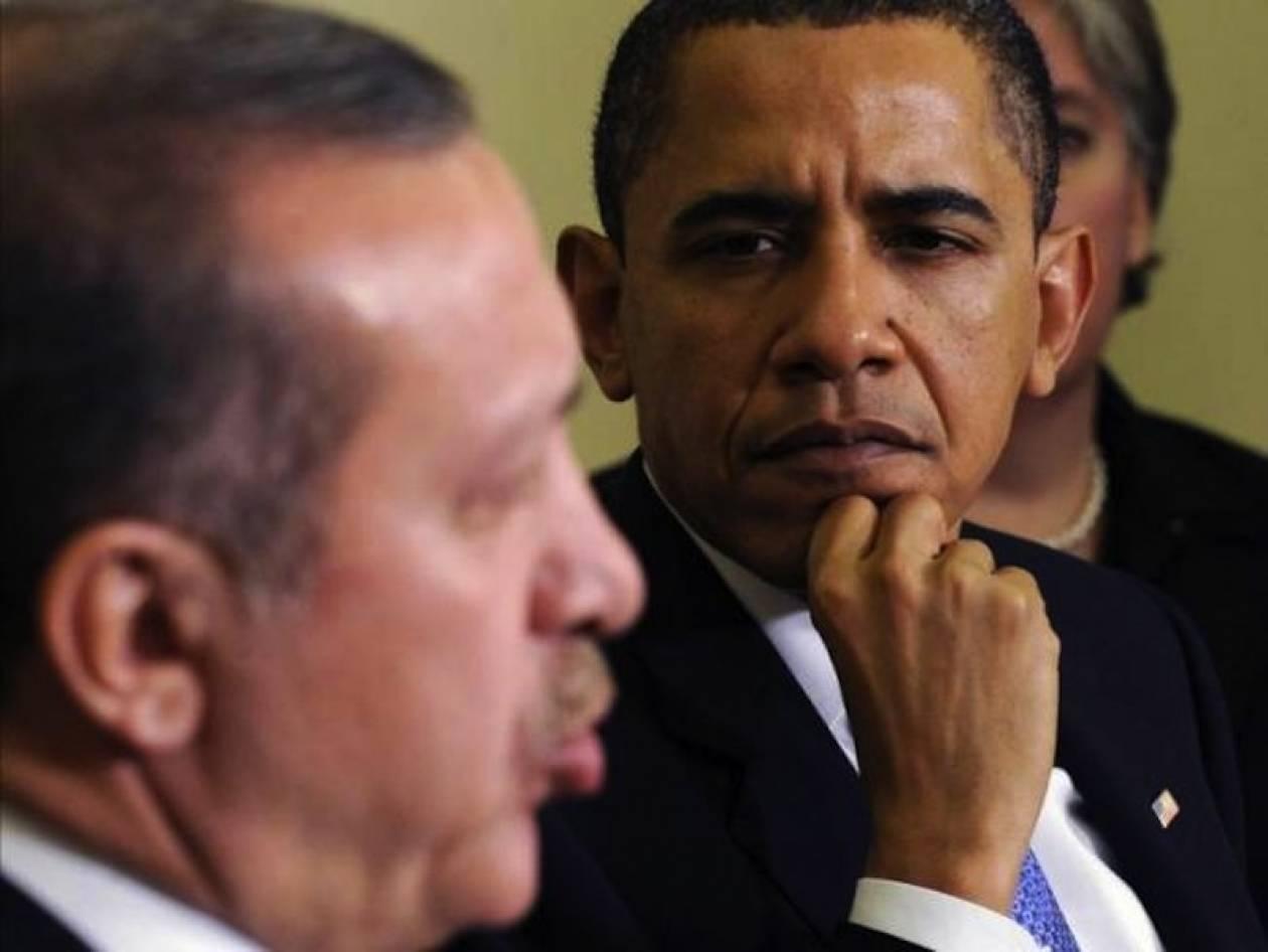 Το Κυπριακό συζήτησαν Ομπάμα-Ερντογάν