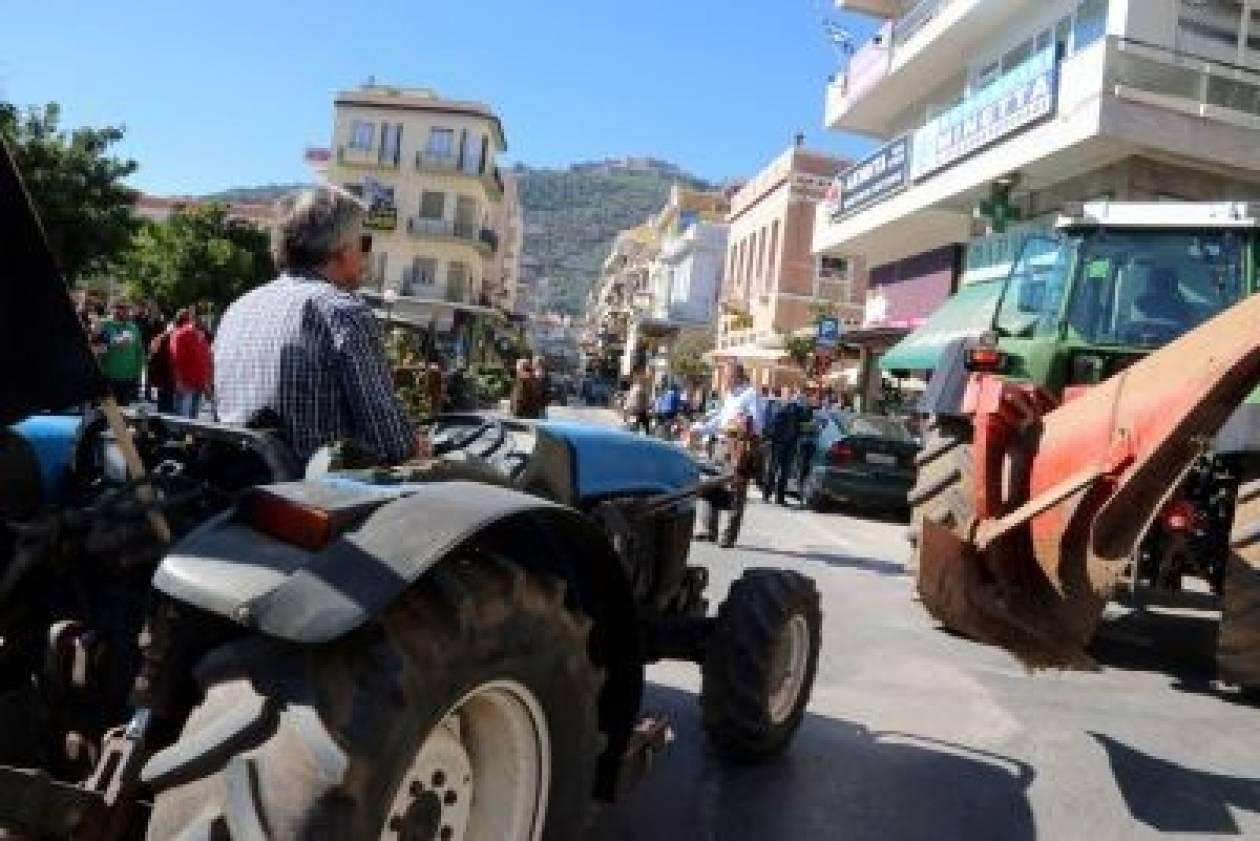 Παγκρήτιο συλλαλητήριο των αγροτών κατά της φορολόγησης