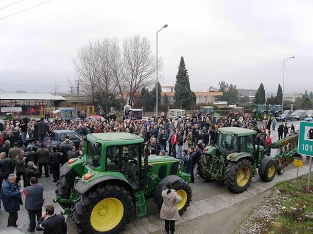 Σέρρες: Ραντεβού τη Δευτέρα στον Προμαχώνα έδωσαν οι αγρότες