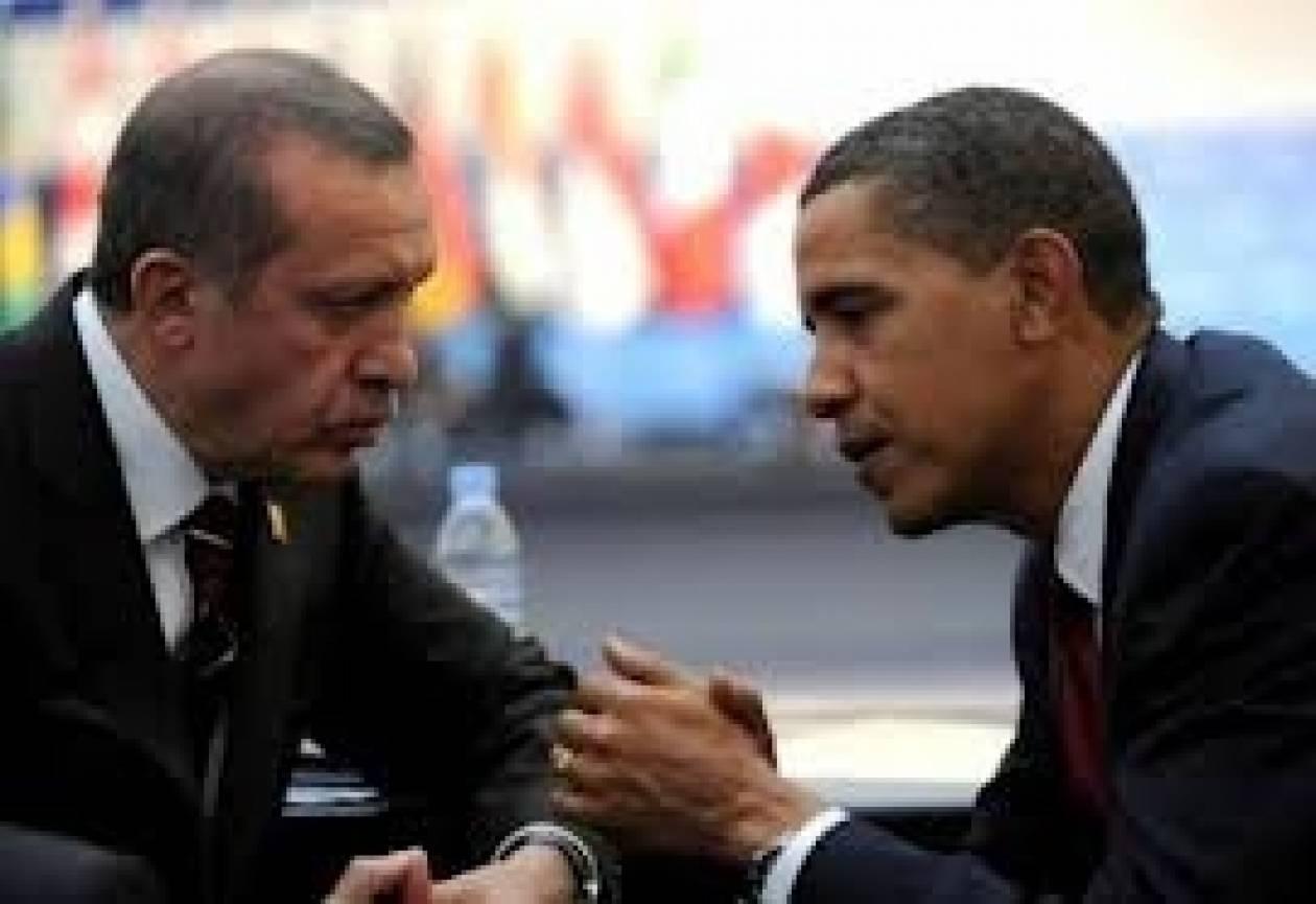 Για το Κυπριακό συνομίλησαν τηλεφωνικά Ομπάμα-Ερντογάν