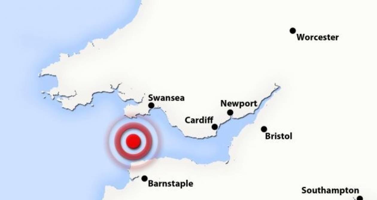 Σεισμός 4,1 προκάλεσε τρόμο στη Νοτιοδυτική Αγγλία και Ουαλία