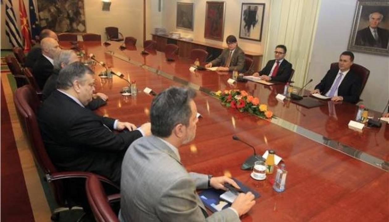 Συμφώνησαν διαφωνώντας Βενιζέλος-Γκρούεφσκι
