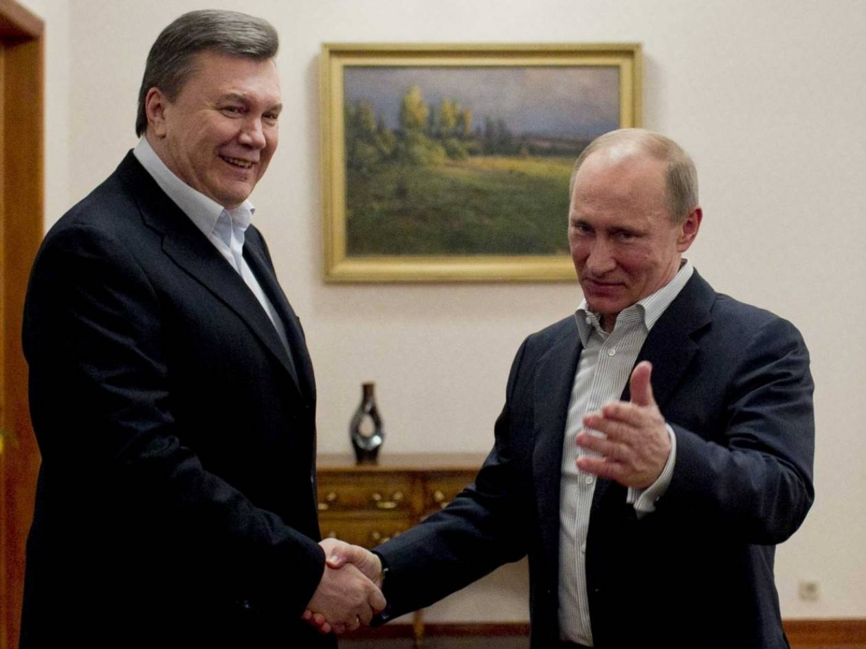 Διαψεύδει η Μόσχα την παροχή «πολιτικού ασύλου» στον Γιανουκόβιτς