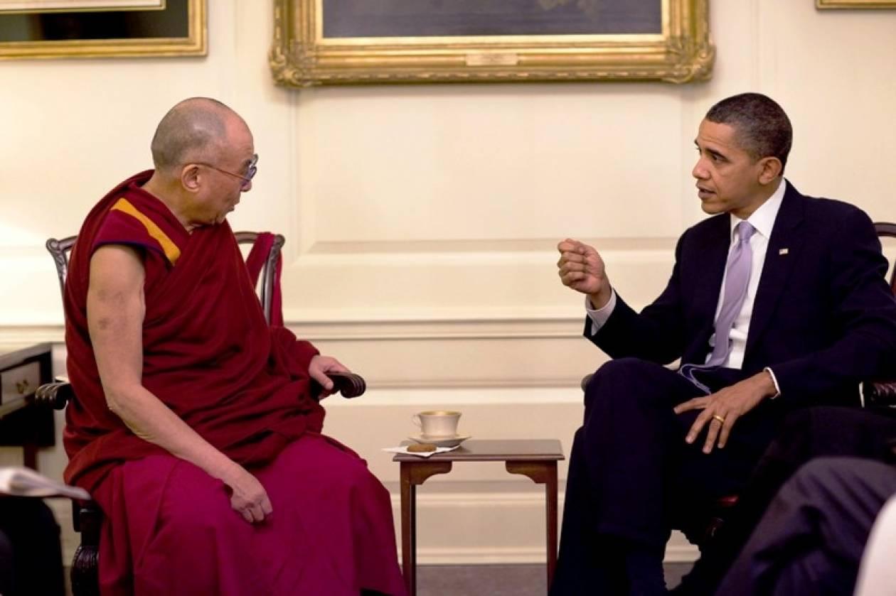 Με τον Δαλάι Λάμα θα συναντηθεί ο Μπαράκ Ομπάμα