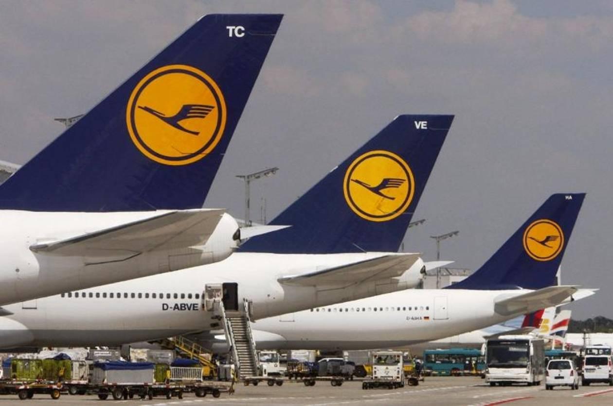 Η Lufthansa ακύρωσε 15 πτήσεις λόγω απεργίας του προσωπικού ασφαλείας
