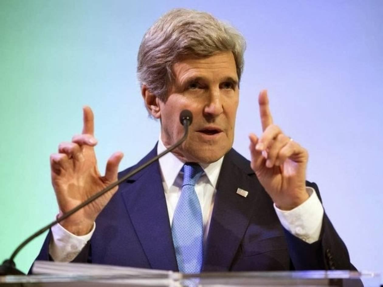 Τζον Κέρι: Η βία στην Ουκρανία πρέπει να σταματήσει