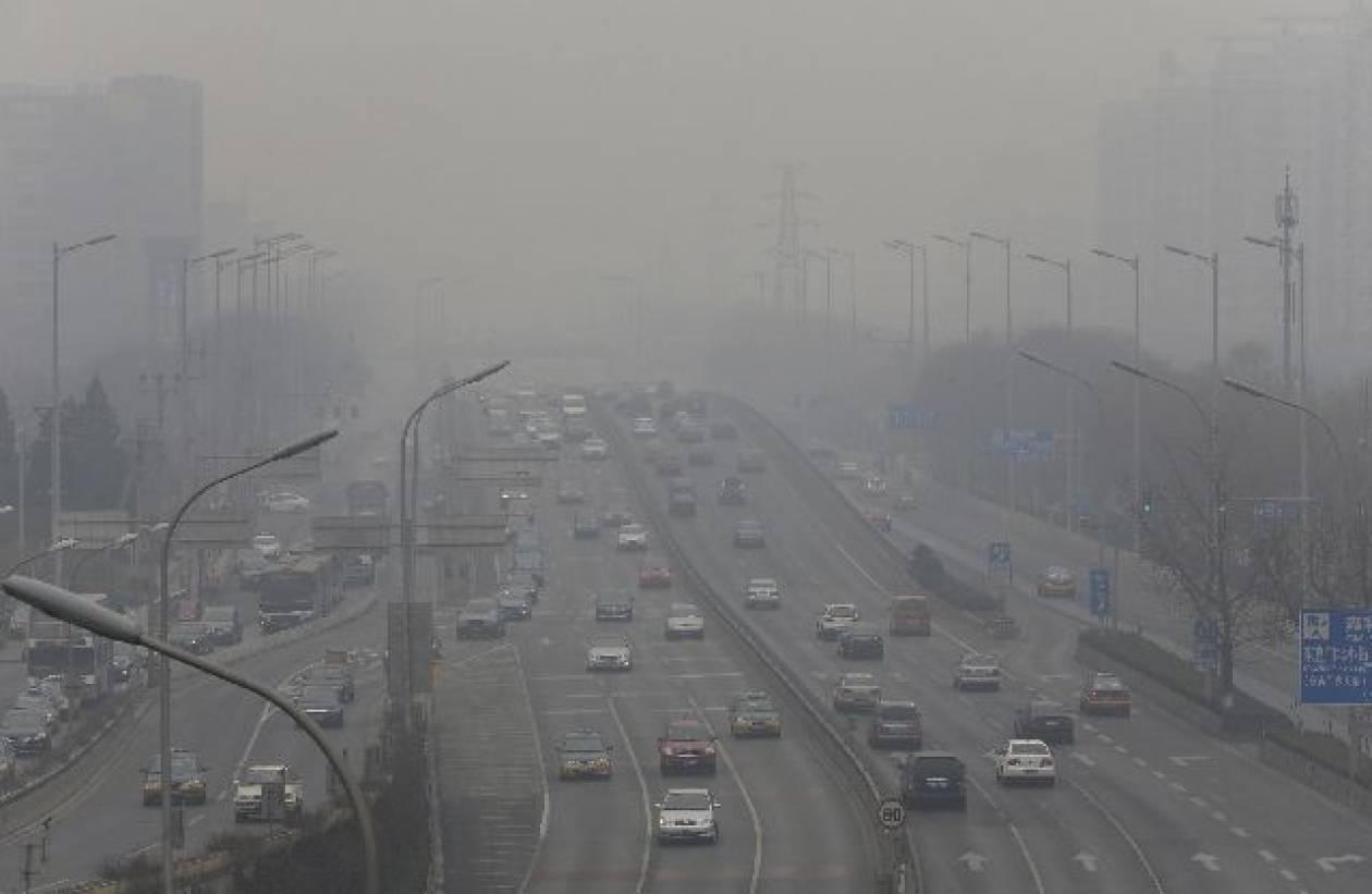 Συναγερμός στο Πεκίνο για την ατμοσφαιρική ρύπανση