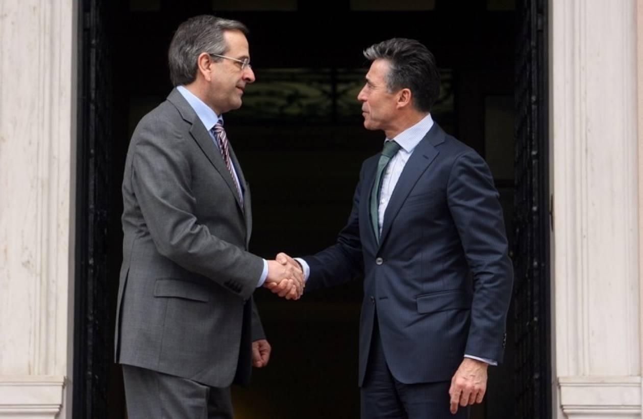 Σαμαράς: Σημαντικός ο ρόλος του ΝΑΤΟ για τη σταθερότητα στην Ουκρανία