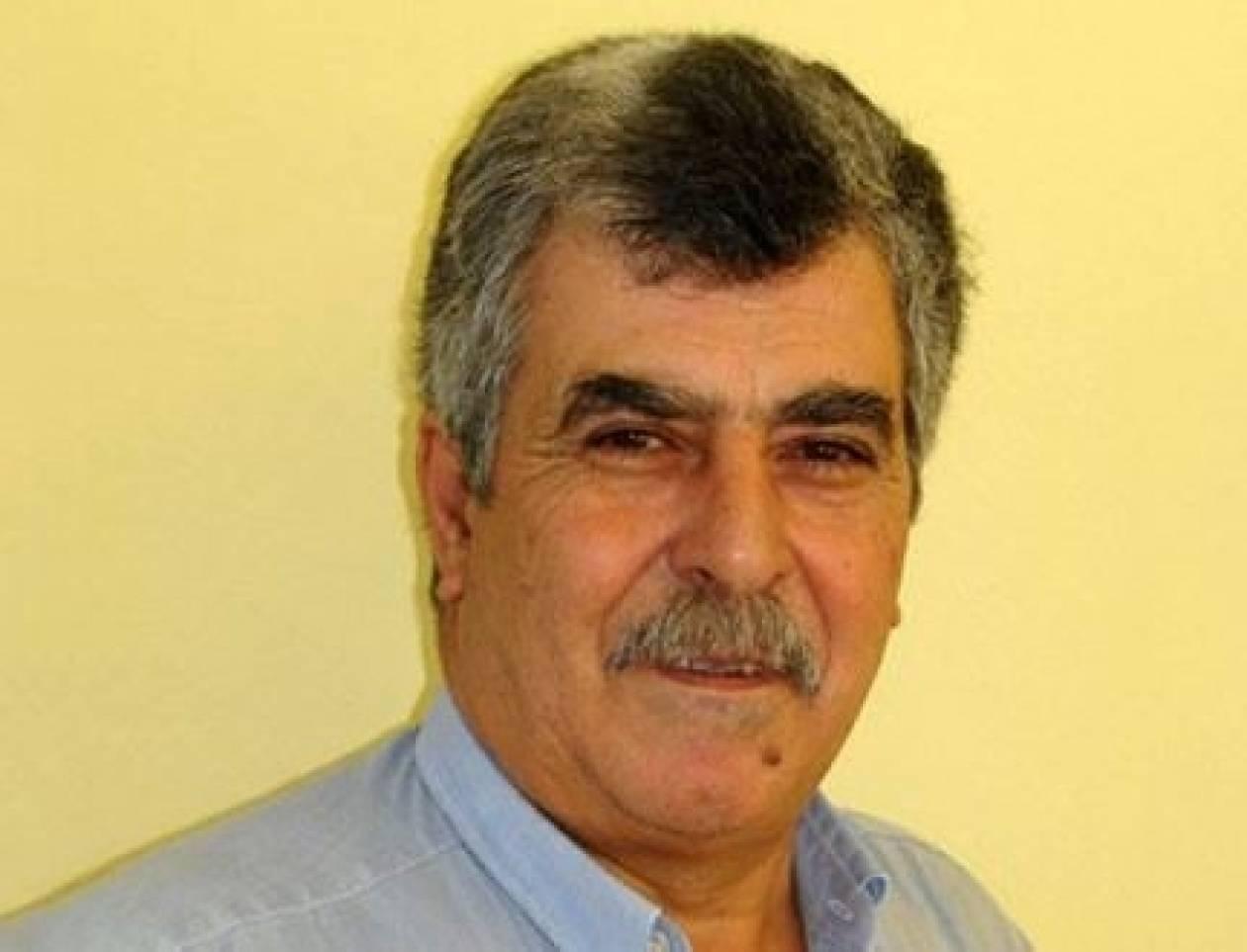 «Έφυγε» ο αντιπεριφερειάρχης Κρήτης Κώστας Λαμπρινός