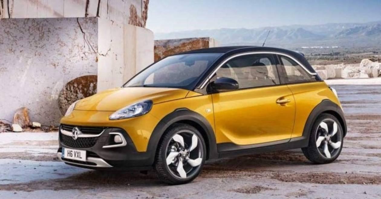 Opel Adam rocks: Το off road Adam με τον χιλιάρη turbo