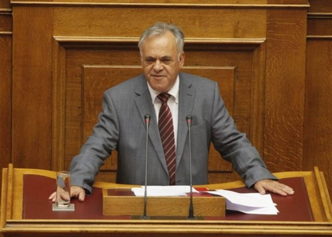 Δραγασάκης: Δεν θέλουμε να φύγουμε από το ευρώ