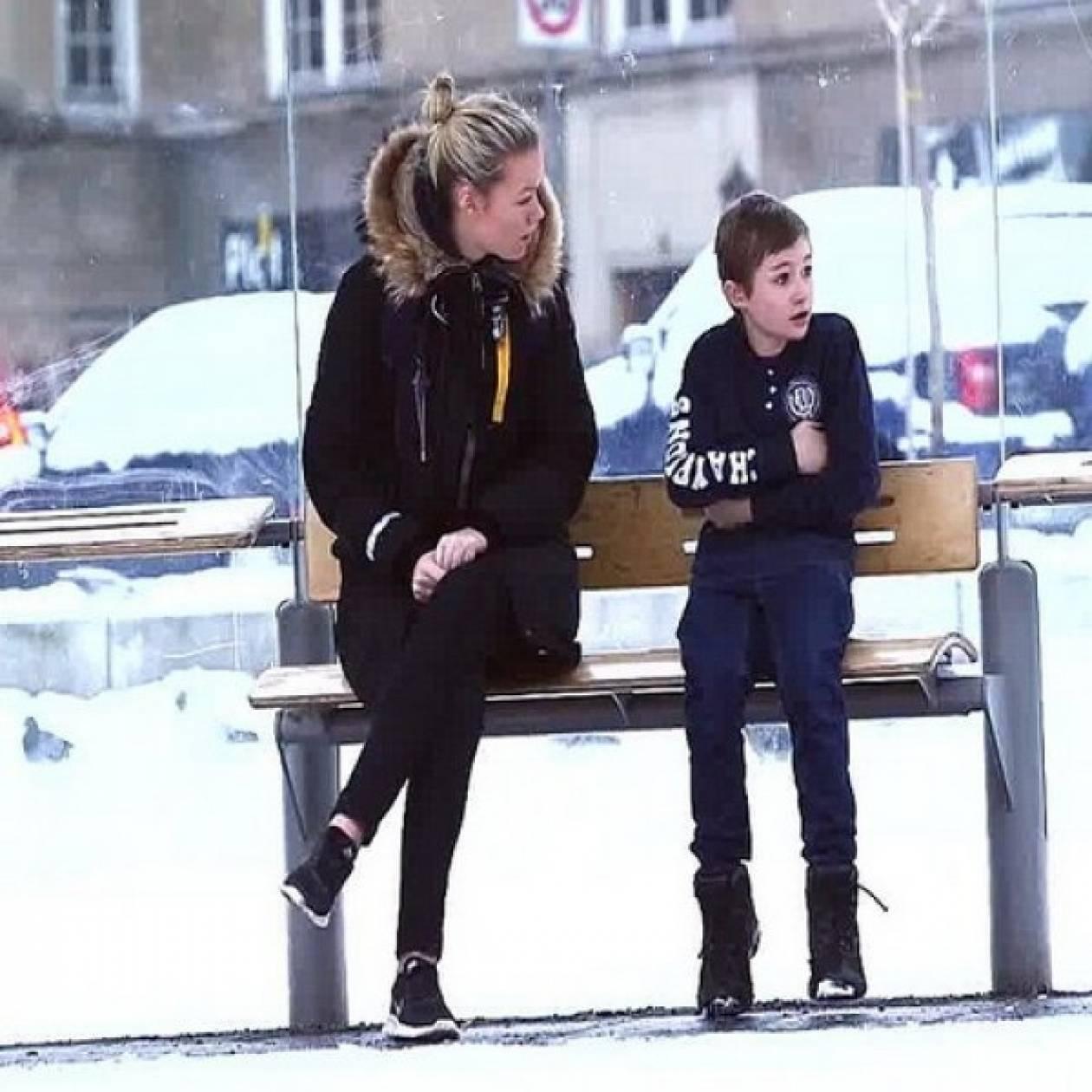Εσείς τι θα κάνατε αν βλέπατε ένα παιδάκι στο κρύο χωρίς μπουφάν;