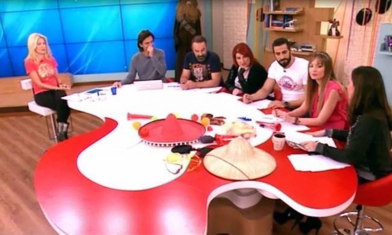 Η Μενεγάκη κάλεσε on air στην εκπομπή της την Μπαλατσινού