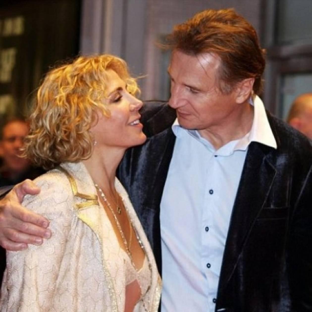 O Liam Neeson συγκλονίζει μιλώντας για το χαμό της γυναίκας του