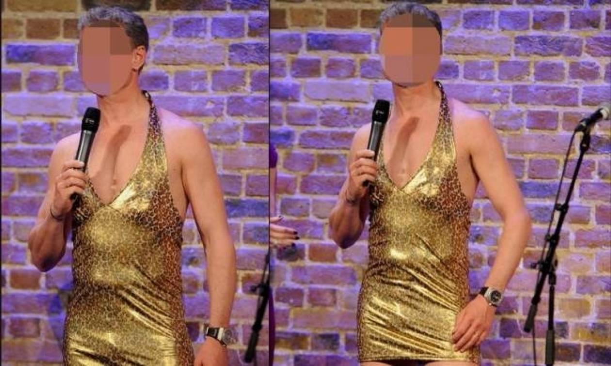 Άσος της Formula 1 εμφανίστηκε ντυμένος γυναίκα!