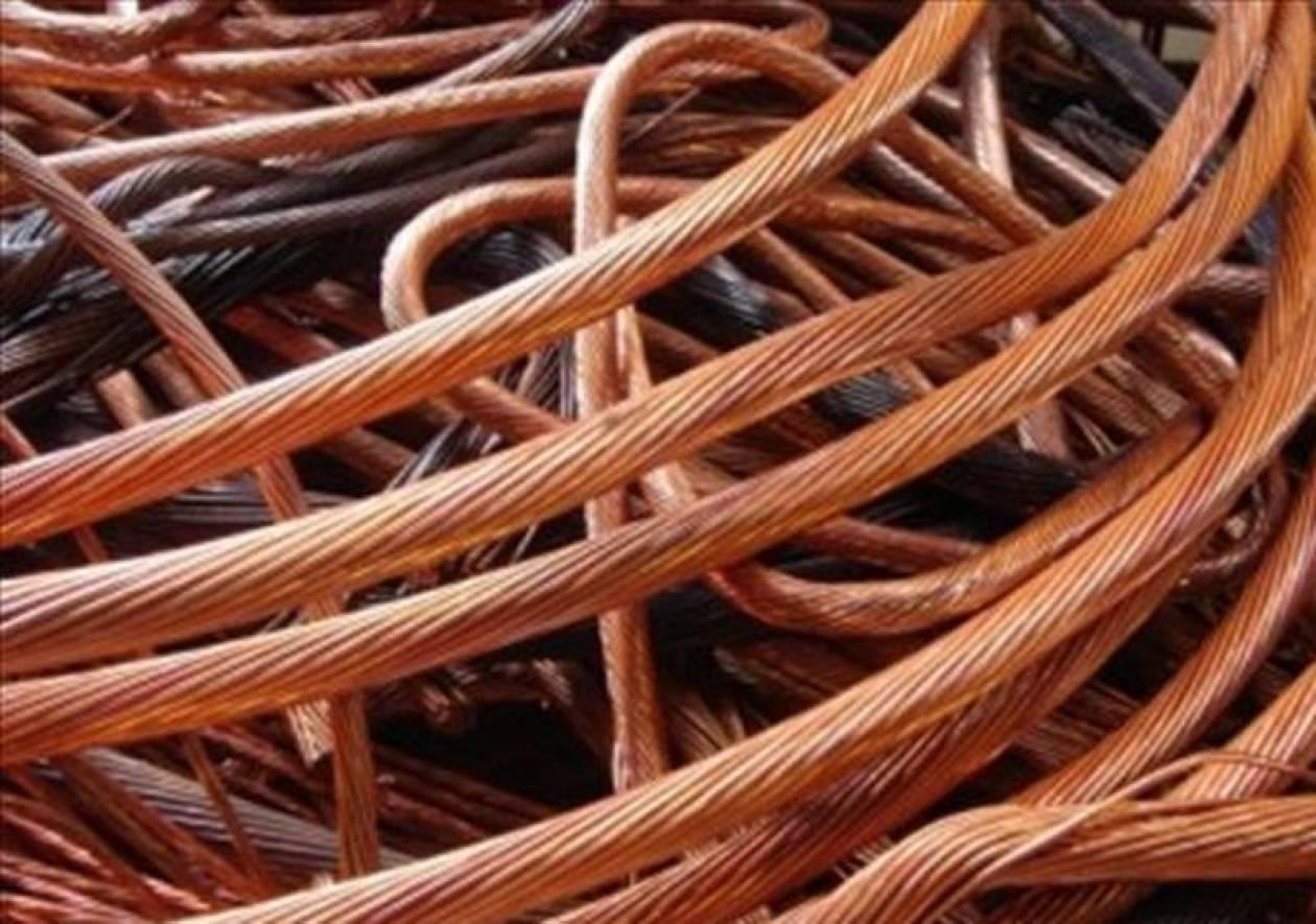 Έκλεψαν 2,5 τόνους καλώδια χαλκού από εργοστάσιο στην Καβάλα