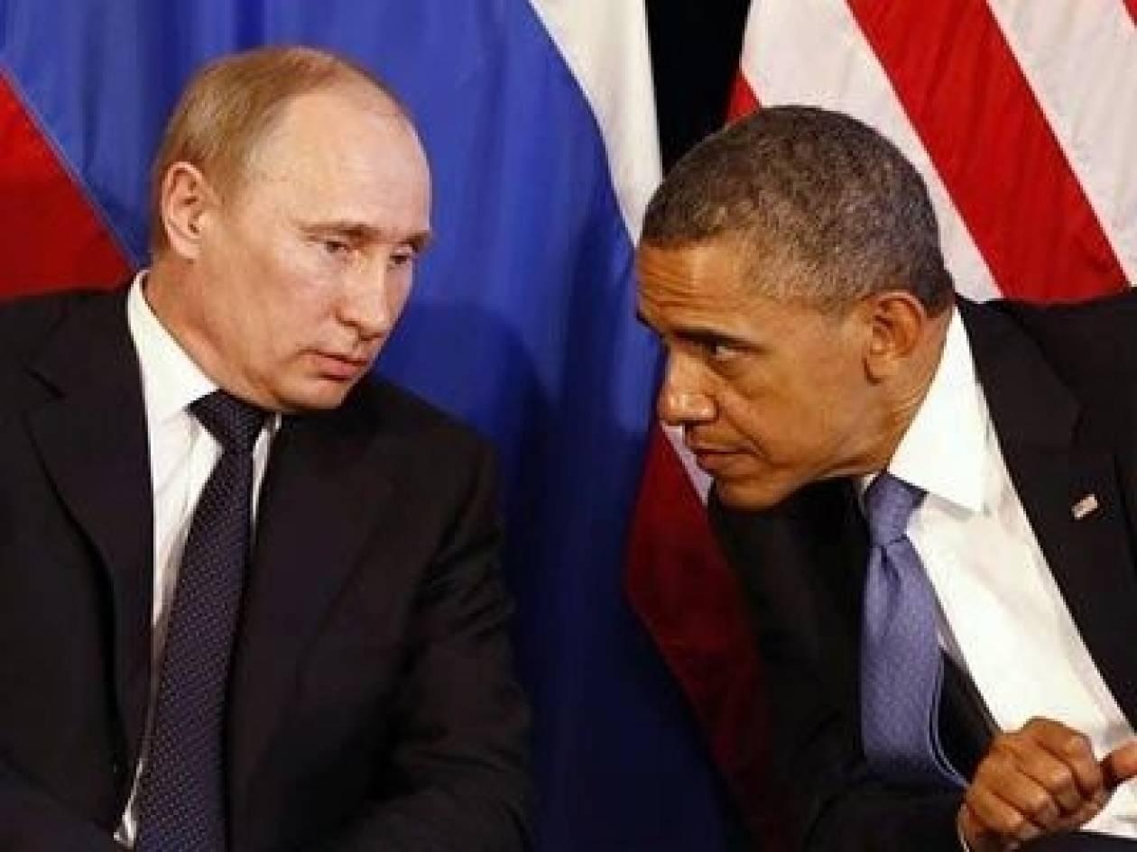 O εμφύλιος στη Συρία στις συνομιλίες Ομπάμα - Πούτιν