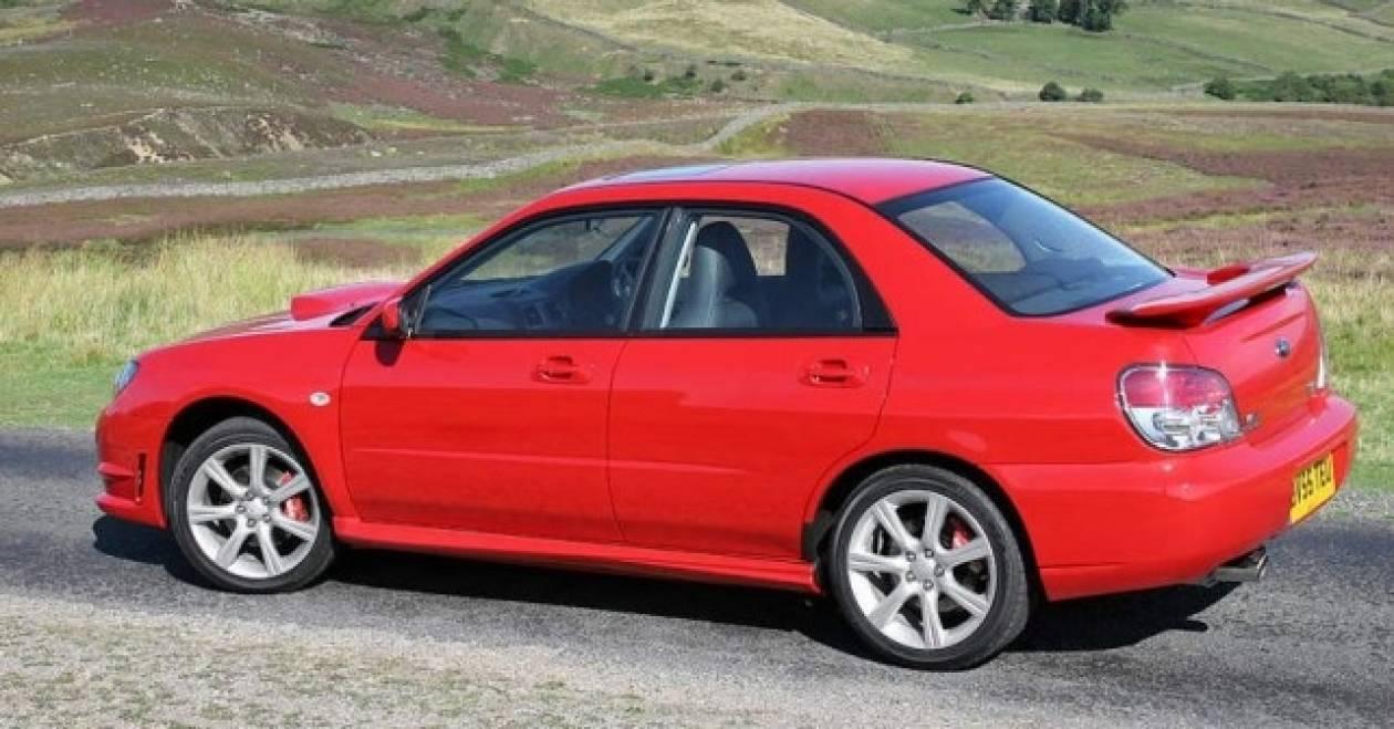 Θεϊκή αγγελία για Subaru Impreza WRX