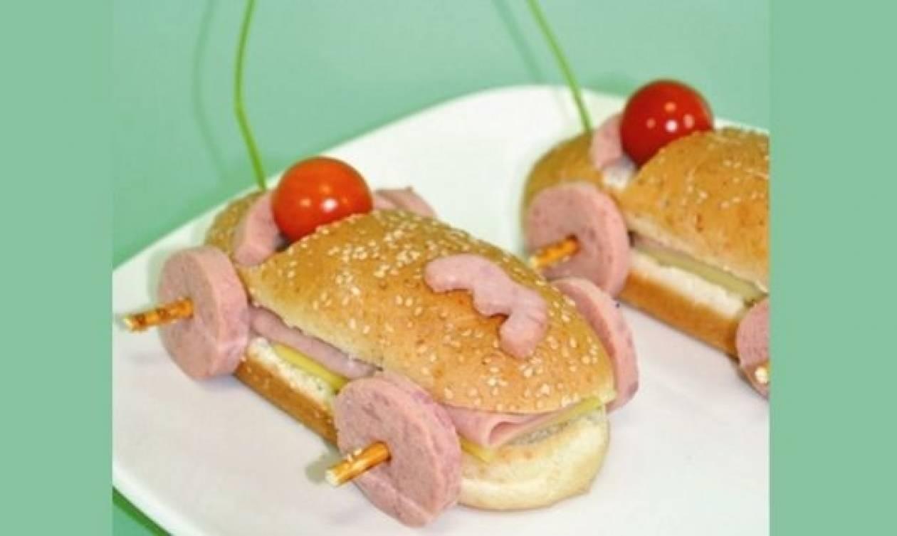 Συνταγή για σάντουιτς αυτοκίνητο