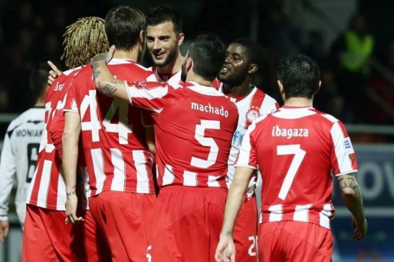 ΟΦΗ-Ολυμπιακός 0-4: Τα γκολ του αγώνα (video)