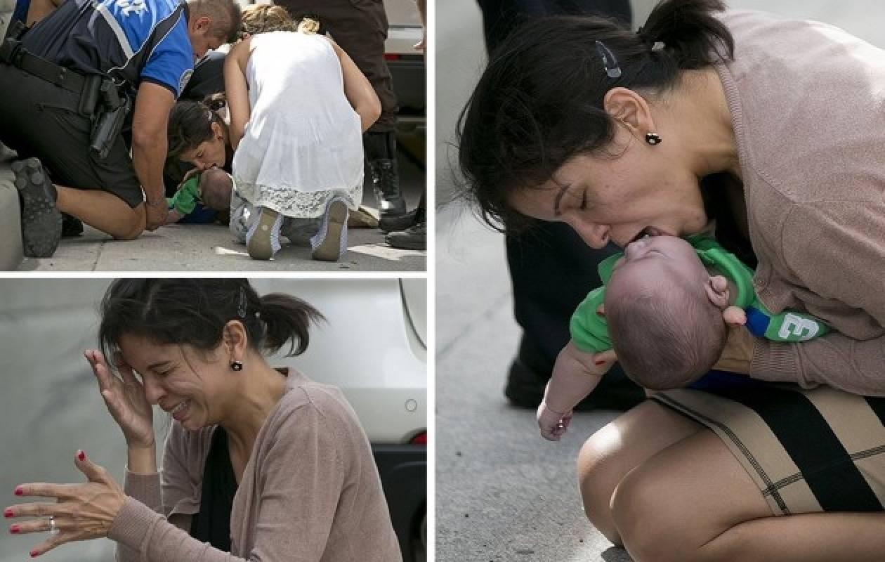 ΣΥΓΚΛΟΝΙΣΤΙΚΟ: Έσωσε βρέφος 5 μηνών από βέβαιο θάνατο!