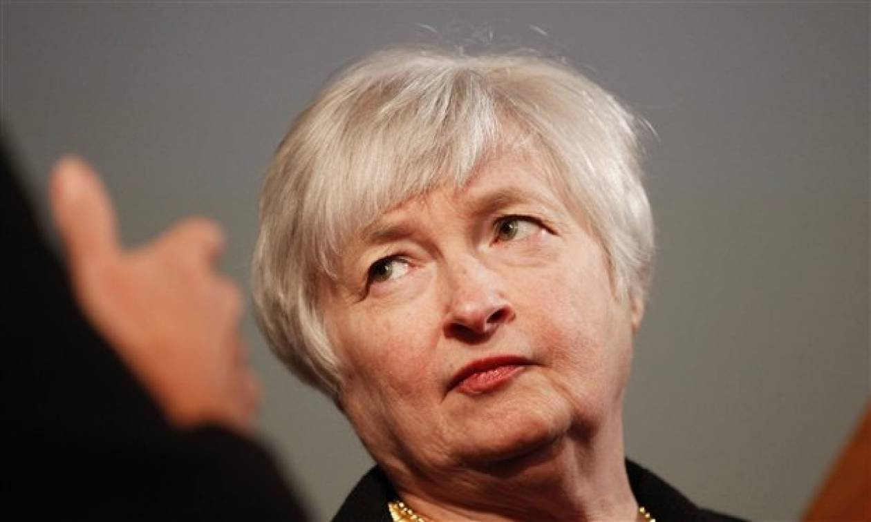 Η Τζάνετ Γιέλεν της Fed έδειξε την ταυτότητα της για να πάρει πρωϊνό