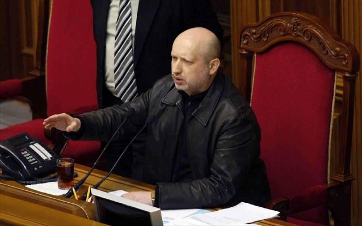 Ουκρανία: Ο Αλεξάντερ Τουρτσίνοφ ορίστηκε μεταβατικός πρόεδρος