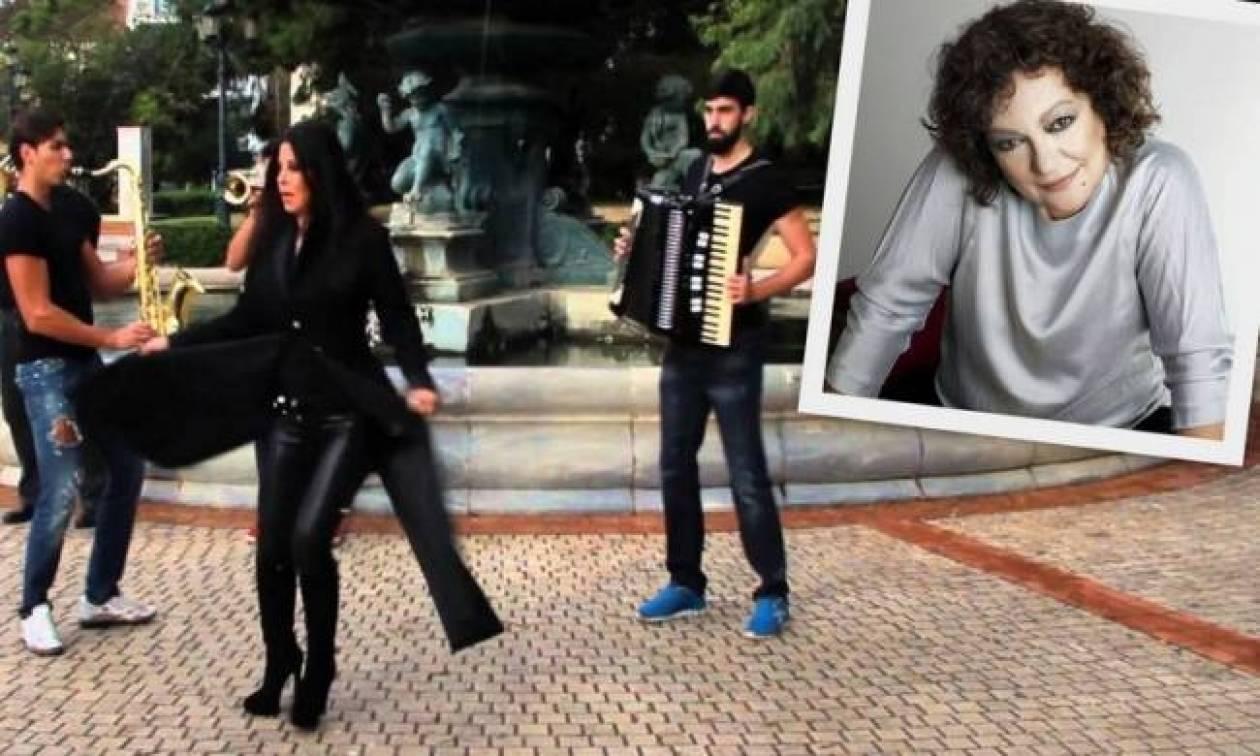 Δείτε την Τάνια Τσανακλίδου να χορεύει το «Κάνω comeback» της Άντζελας