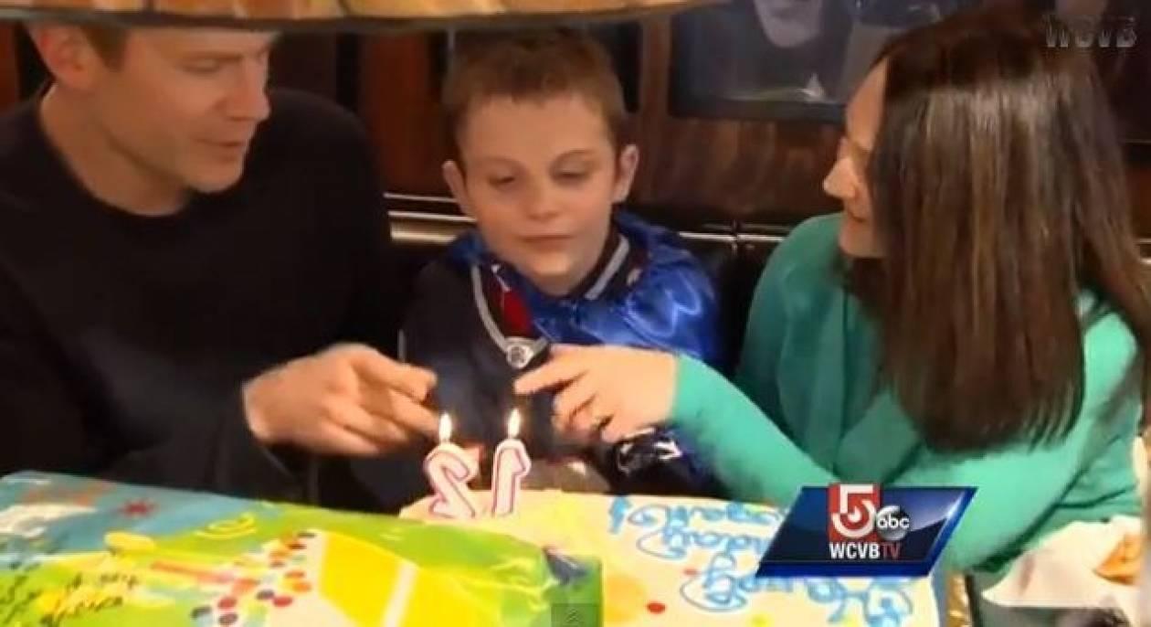 Δείτε το βίντεο από τα αξέχαστα γενέθλια ενός αυτιστικού παιδιού...