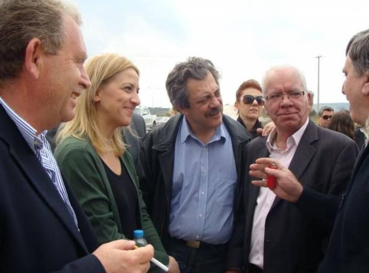 Τη στήριξή της στα αιτήματα των αγροτών εξέφρασε η Ρένα Δούρου