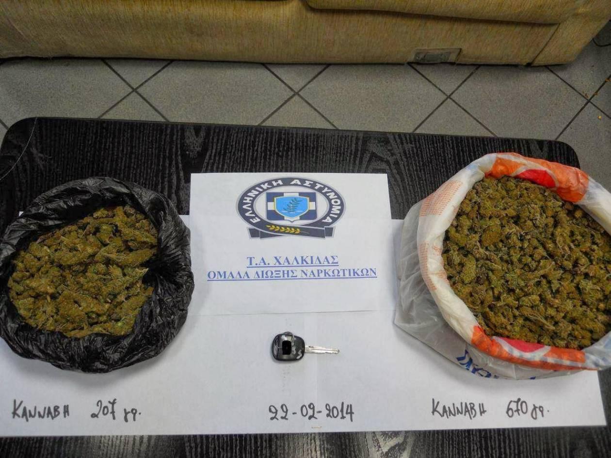 Εύβοια: Μάνα, κόρη και εραστής συνελήφθησαν για διακίνηση ναρκωτικών