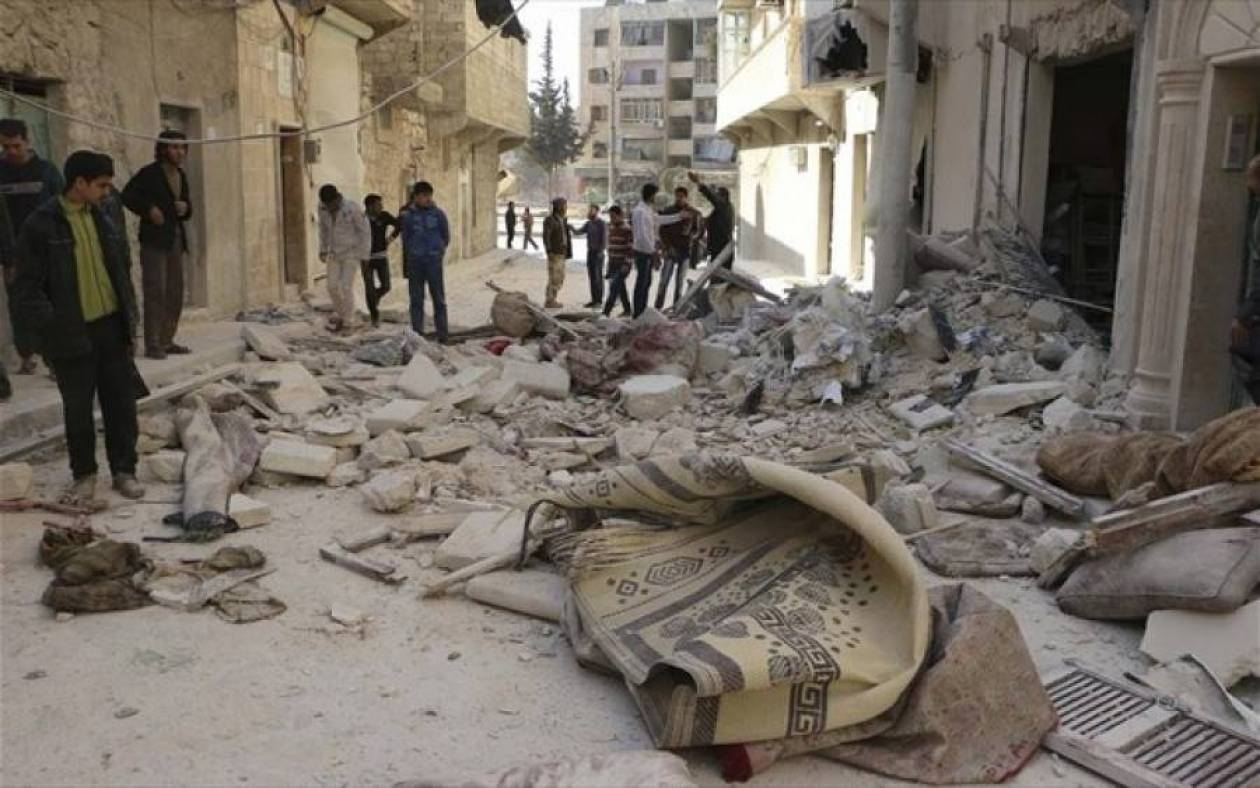 Συρία: Τουλάχιστον 15 νεκροί και 65 τραυματίες από βομβιστική επίθεση
