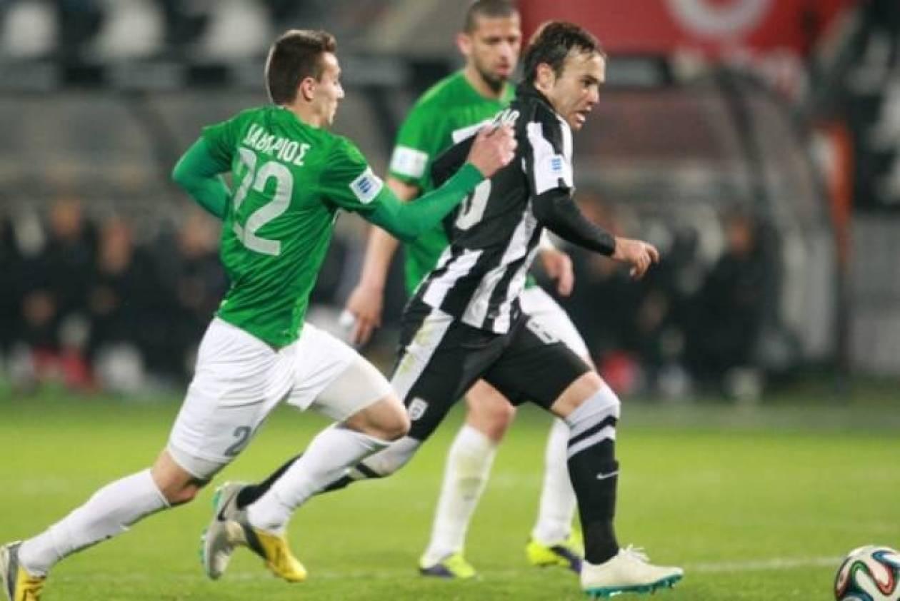 ΠΑΟΚ-Πανθρακικός 3-0: Τα γκολ του αγώνα (video)