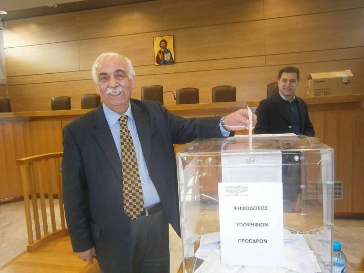 Επανεκλέχθηκε για 5η συνεχόμενη φορά Πρόεδρος του Δ.Σ. Τρικάλων