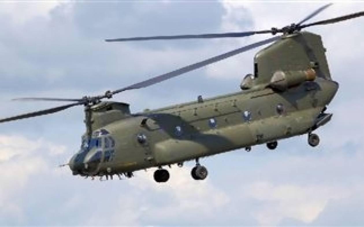 Αναγκαστική προσγείωση δύο ελικοπτέρων Σινούκ του ΝΑΤΟ στη Ζάκυνθο