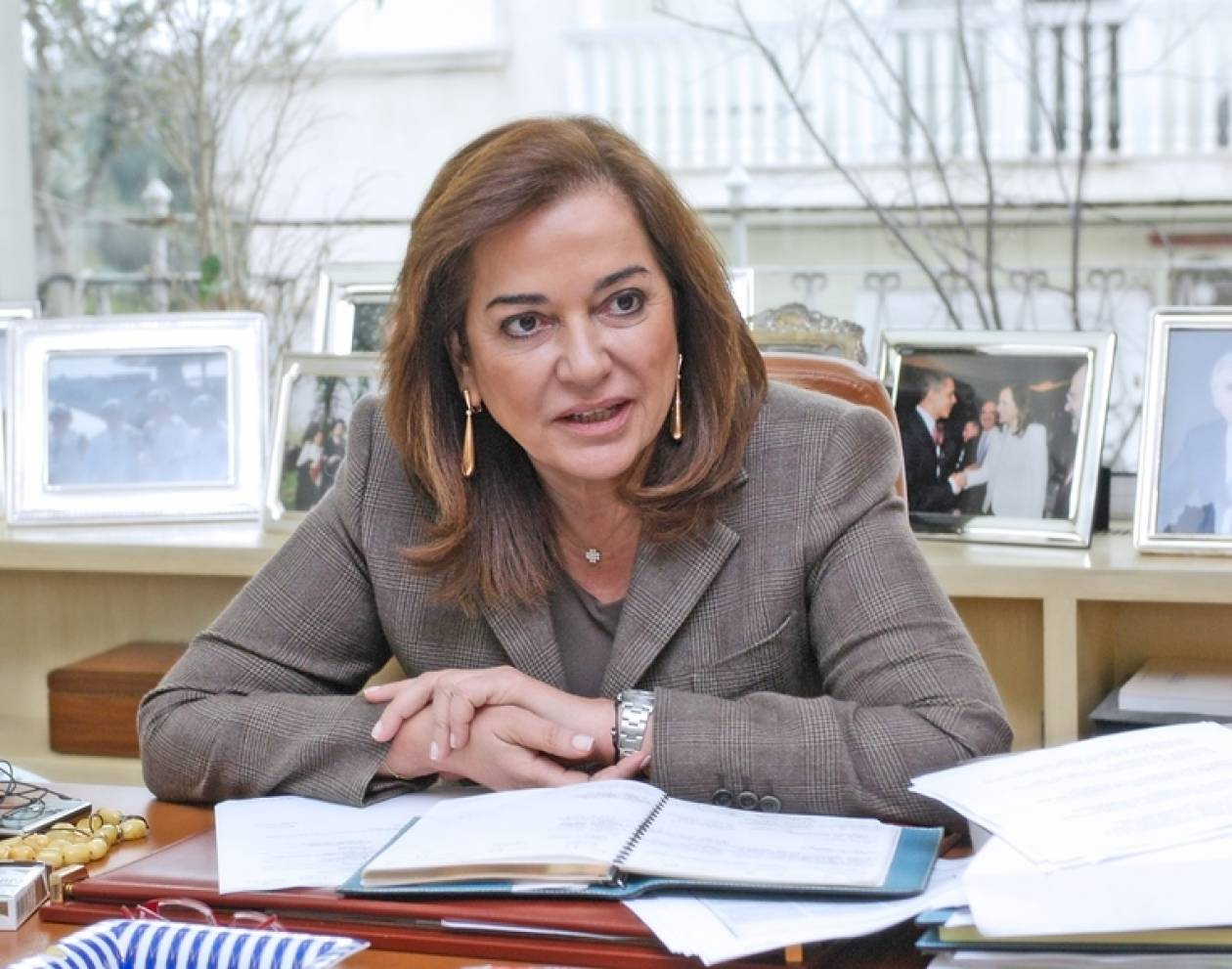 Μπακογιάννη: Δεν είναι στις προθέσεις μου η ευρωβουλή