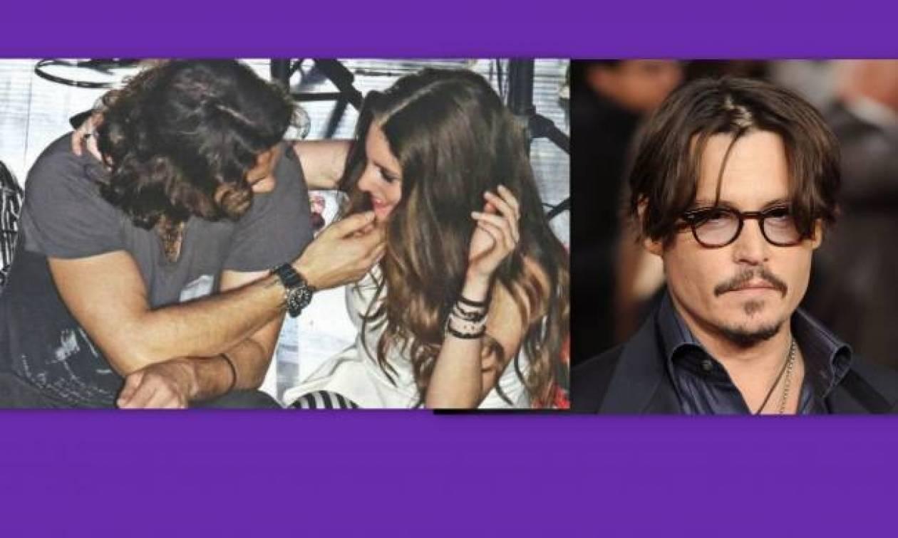 Τι σχέση έχει ο σύντροφος της Οικονομάκου με τον Johnny Depp