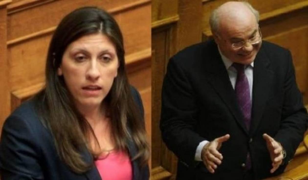 Φραστικό επεισόδιο στη Βουλή-Σεξισμό καταγγέλλει η Κωνσταντοπούλου