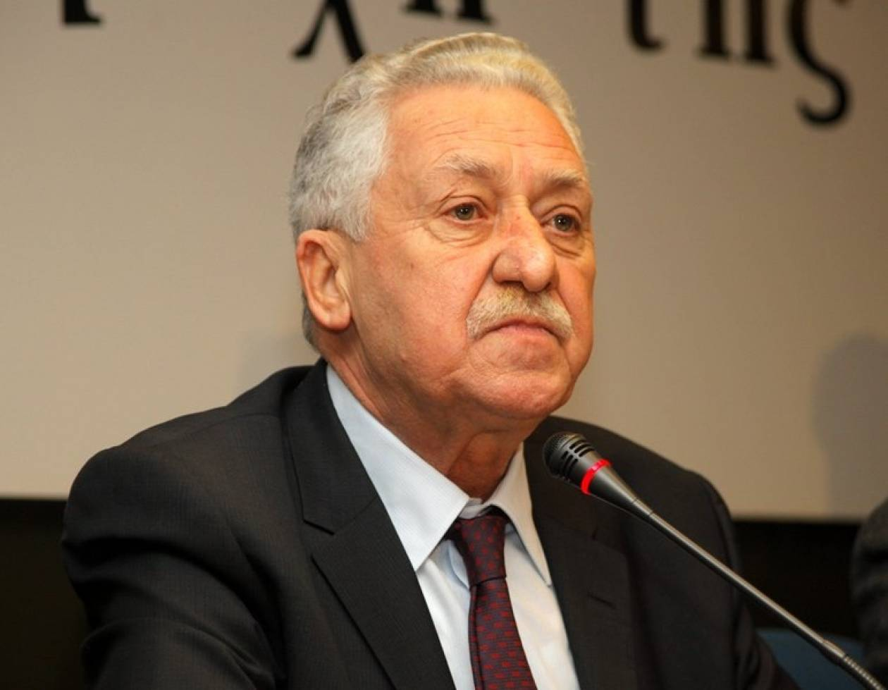 Κουβέλης: Δεν θα θέσω υποψηφιότητα για Πρόεδρος της Δημοκρατίας