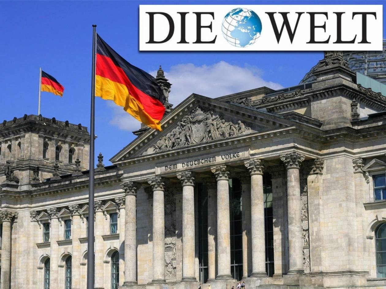 Die Welt: Αναδιάρθρωση της βοήθειας προς Ελλάδα εξετάζει το Βερολίνο