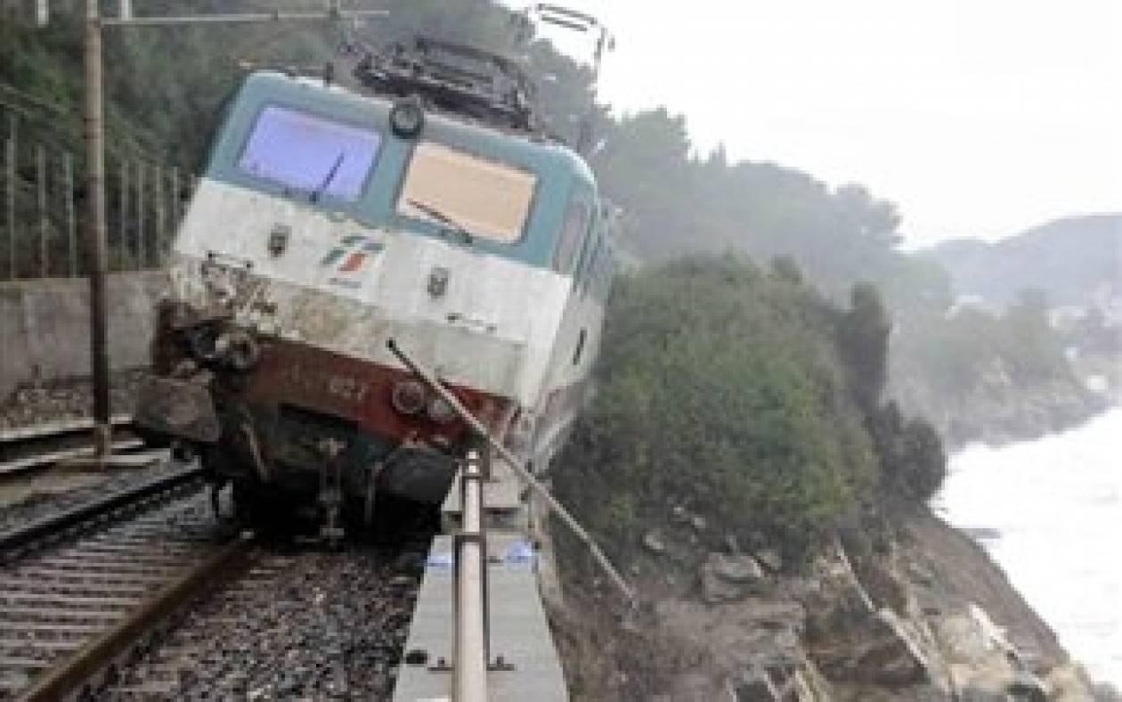 Ιταλία: Τρένο κρεμόταν πάνω από γκρεμό εδώ και 38 ημέρες!