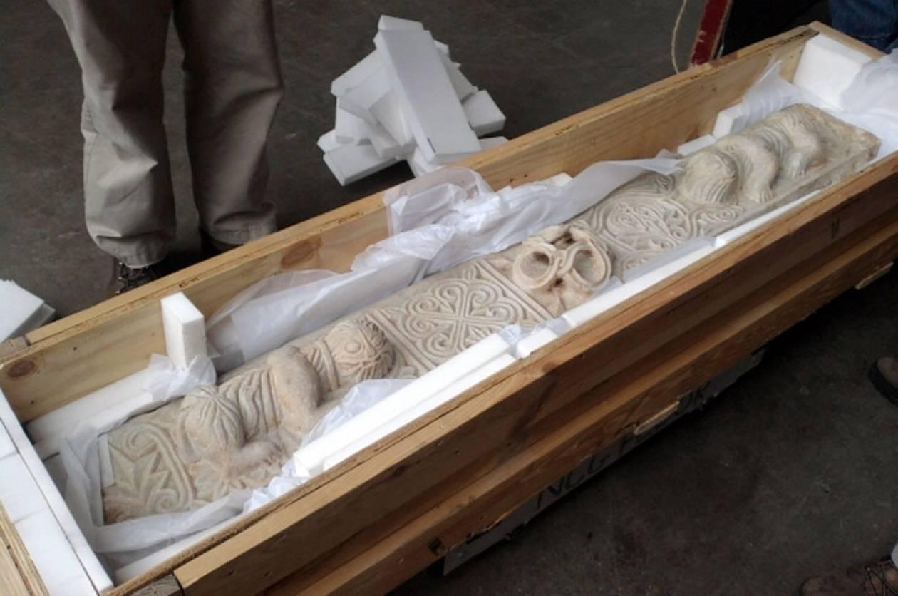 Γύρισε στην Μάνη κλεμμένο βυζαντινό ανάγλυφο μετά από 16 χρόνια