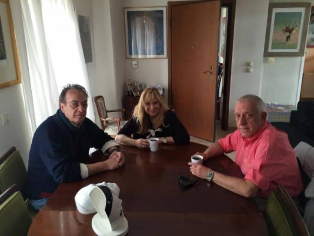 Η Άννα Φόνσου υποψήφια με τον Ν. Κακλαμάνη