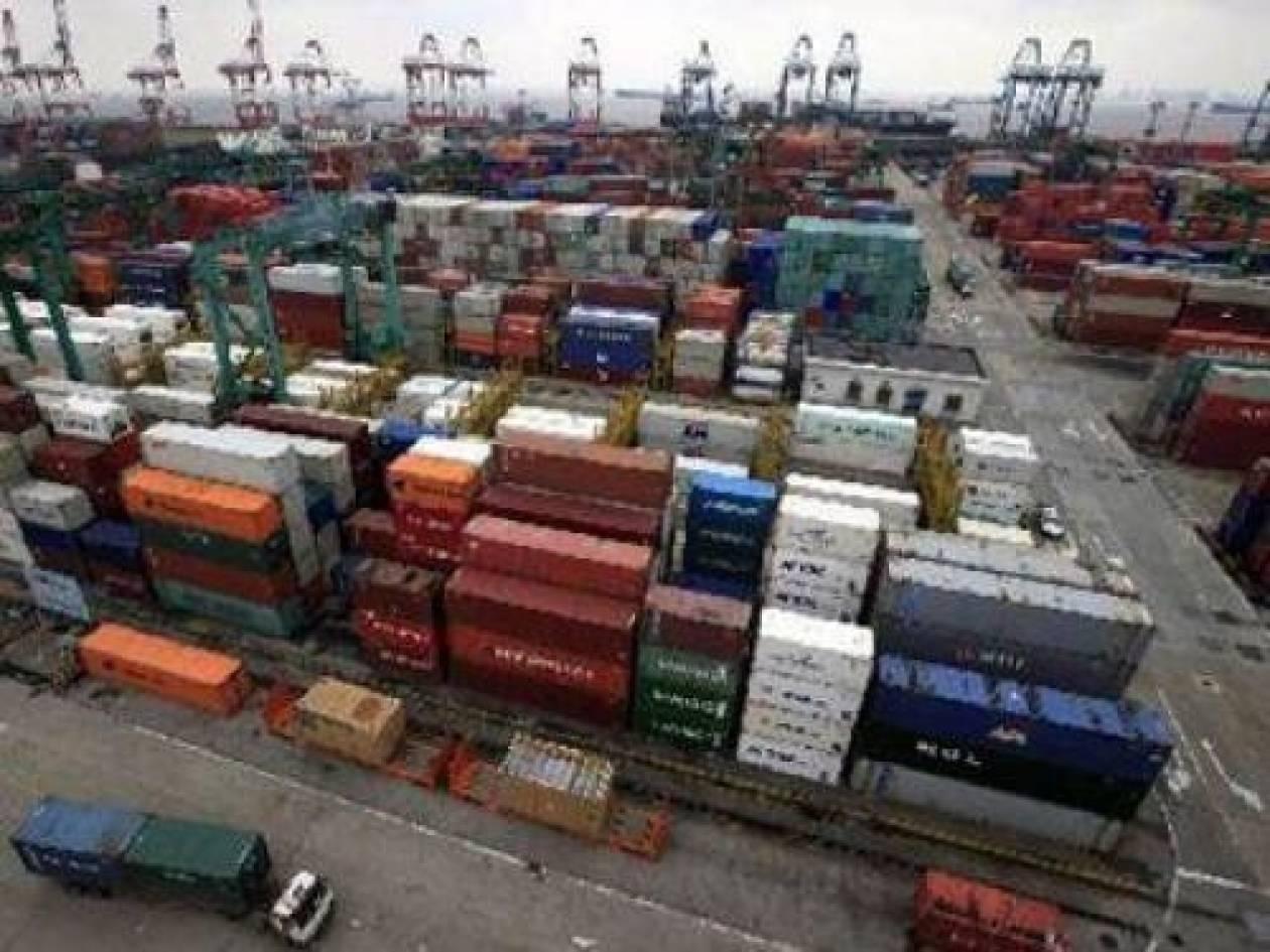 ΕΛΣΤΑΤ: Μειωμένες κατά 2,1% οι εξαγωγές το 2013
