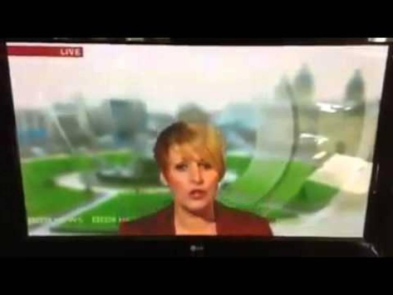 Γκάφα με παρουσιάστρια του BBC! (vid)