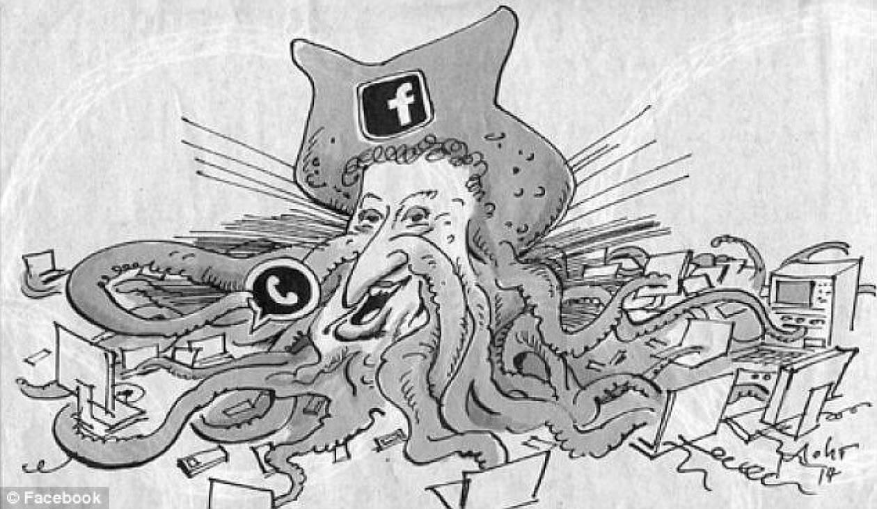 Ζήτησαν συγνώμη από τον Ζούκερμπεργκ για το χταπόδι
