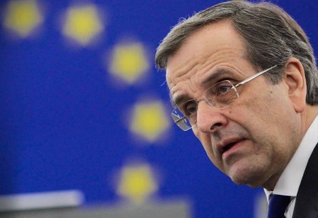 Σαμαράς: Άλμα για την ΕΕ η διαχείριση των ιδίων πόρων της