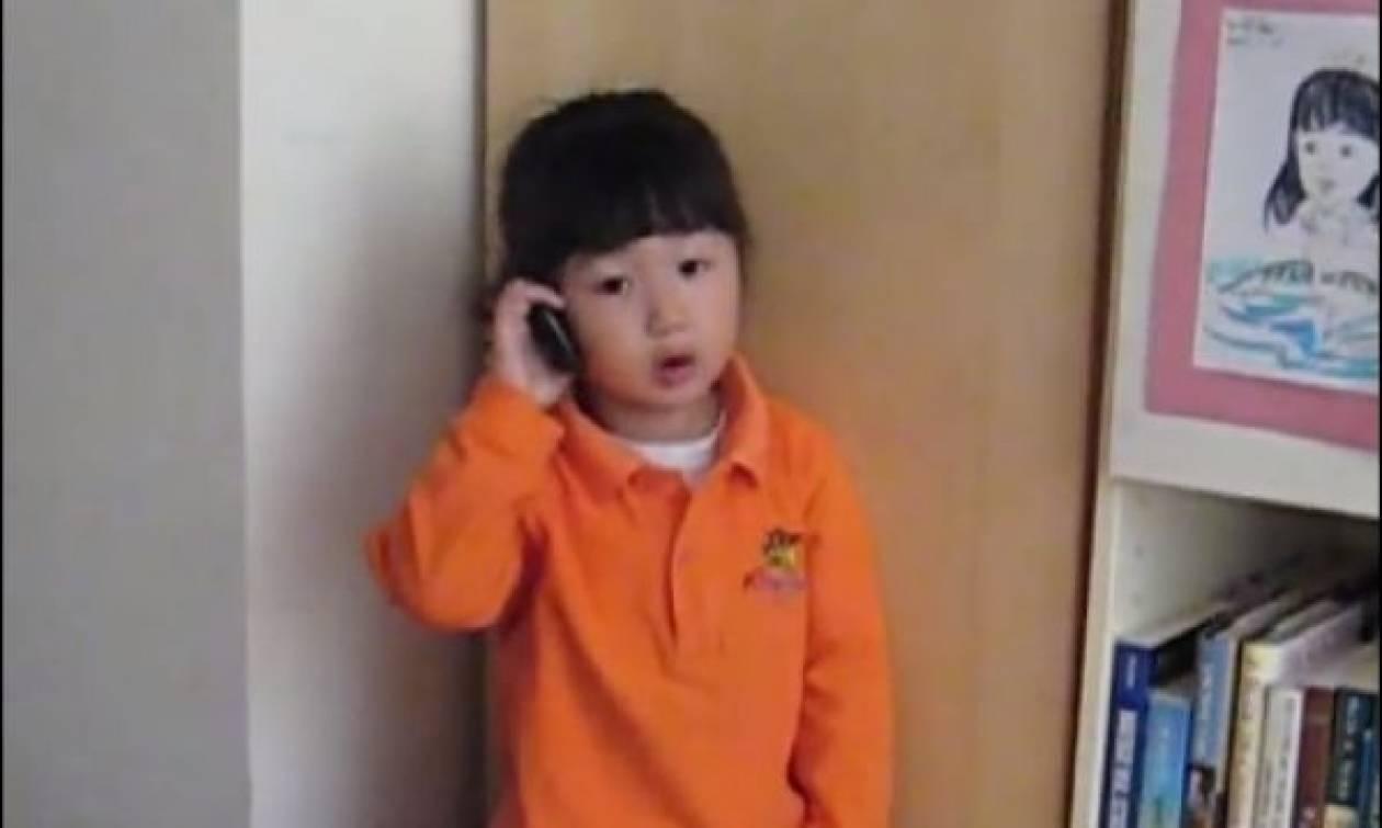 Η μικρούλα είναι αποφασισμένη να μη ξαναπάει ποτέ στο σχολείο