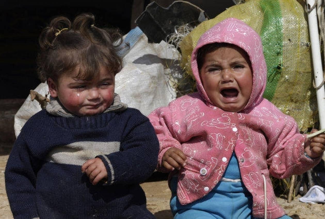 SOS: 2.000 παιδιά από τη Συρία κινδυνεύουν να πεθάνουν