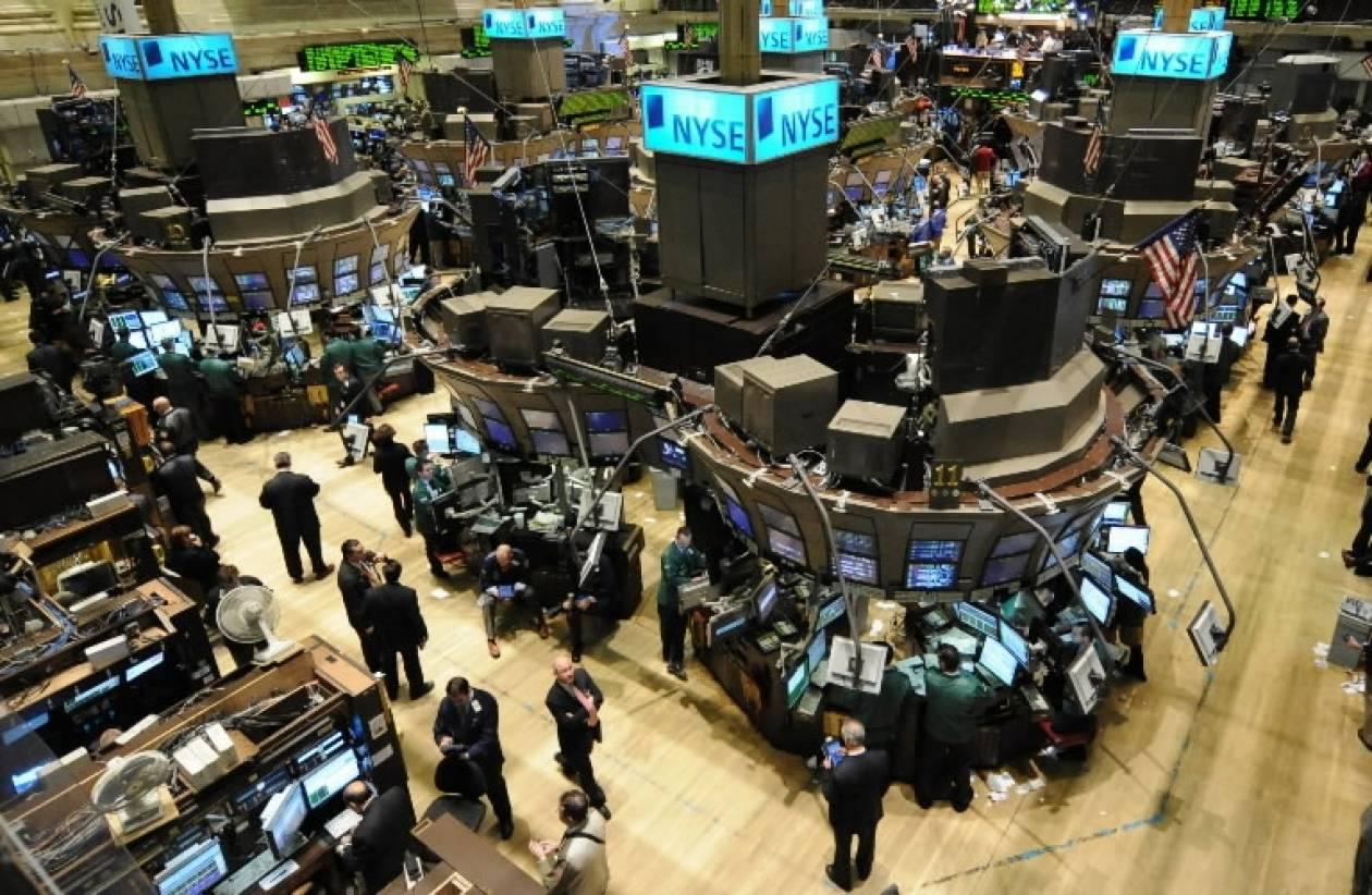 Με πτώση έκλεισε το χρηματιστήριο στη Wall Street